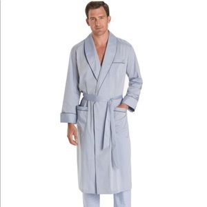 Brooks Brothers robe.